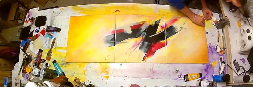 Cours Peinture Abstraite Gratuit Tuto