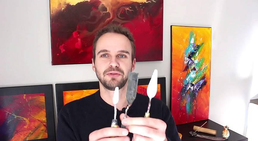 Quel Matériel Utiliser Pour Appliquer La Peinture Acrylique