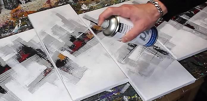 Tuto Cours De Peinture Abstraite N3