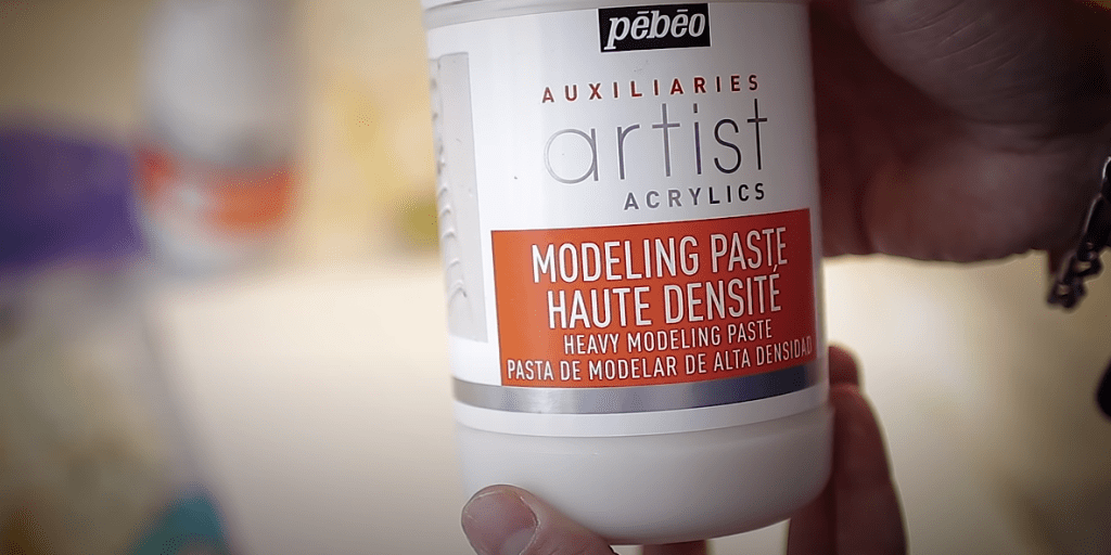 modeling paste pébéo type mortier